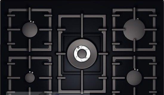 Как отмыть решетку газовой плиты?
