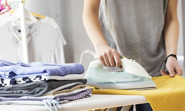laundry, iron, ironing, clean, clothes, clothing, chore, service