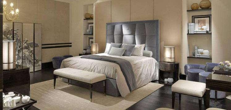 ff-mazarin-bed_dedalo-bench-and-ottoman_asja-bedside-tables