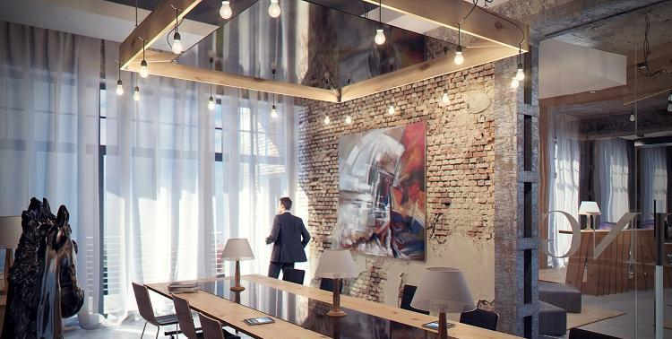 dizajn-ofisa-v-stile-loft-3