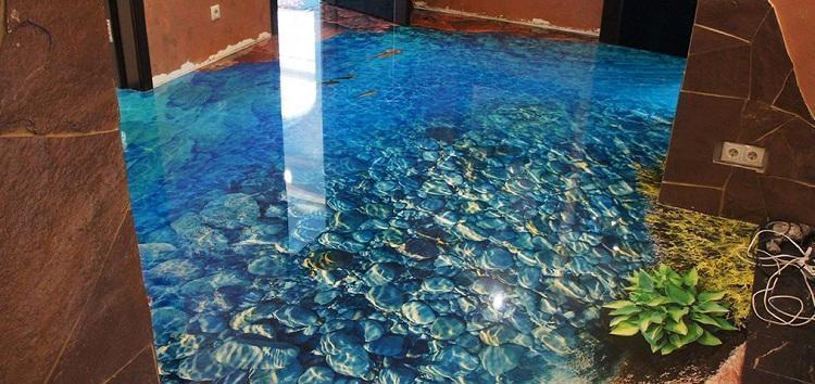 nalivnoj-3d-pol-kamni-pod-vodoj-rastenie