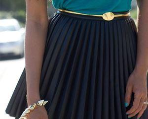 Как стирать плиссированную юбку?