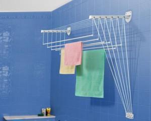 Как собрать сушилку для белья потолочную?