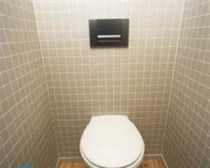 Унитаз со встроенным бачком в стену