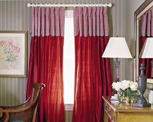 Как правильно вешать шторы?