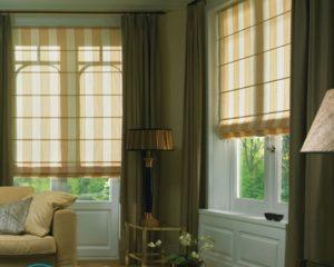 Как чистить римские шторы?