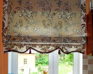 Как сшить шторы на кухню?