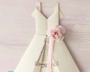 Как Сделать Платье Из Бумаги