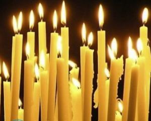 Как воск от свечи убрать с одежды?