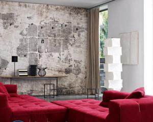 Дизайн стенки-горки в современном стиле