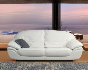 Как покрасить кожаный диван?