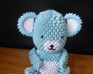 Модульное оригами — ваза. Мастер-класс, схема сборки из модулей