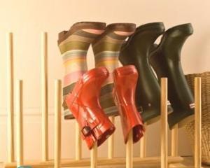 Как сделать сушилку для обуви своими руками?