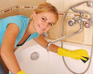Как очистить акриловую ванну в домашних условиях?