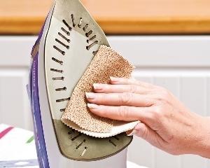 Чистка утюга с керамическим покрытием