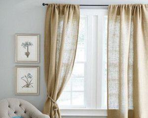 Как подшить шторы в домашних условиях?