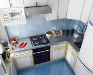 Дизайн кухни в хрущевке с газовой колонкой