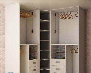 Шкаф-купе внутри все функционально и организовано