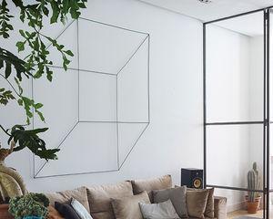 Декор стен в жилых помещениях