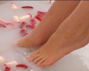 Уход за кожей ног