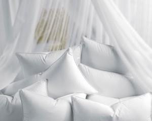 Чистка подушек из пера