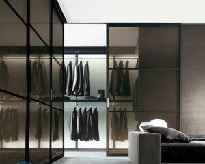 Варианты встроенных шкафов