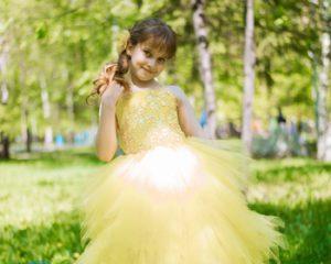 Как сшить бальное платье?