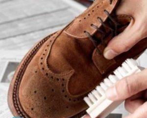 Как очистить замшевые сапоги от соли?