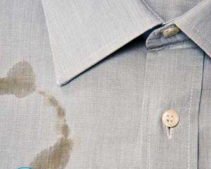 Как вывести пятно от растительного масла с одежды?