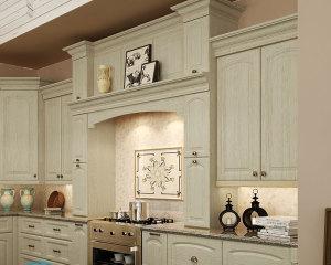 Как повесить кухонные шкафы на монтажную рейку?