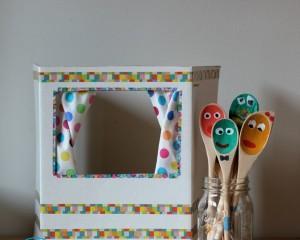 Ширма для кукольного театра своими руками