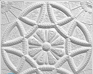 Как клеить потолочную плитку из пенопласта?