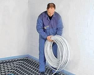 Укладка ламината на теплый водяной пол