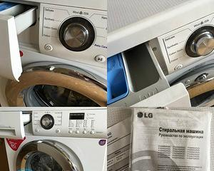 Ремонт стиральной машины LG своими руками — замена подшипника