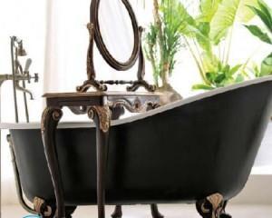 Как закрепить ванну на ножках, если она стоит на кафельном полу?