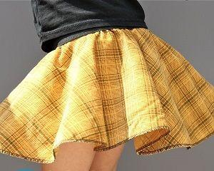 Юбка для девочки своими руками