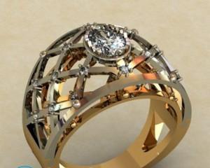 Как почистить золото с бриллиантами?