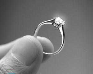 Кольцо для предложения руки и сердца