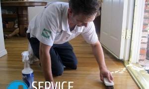 Как отмыть линолеум от грязи?
