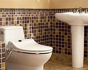 Дизайн туалета с раковиной