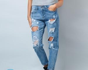 Как сделать рваные джинсы дома?