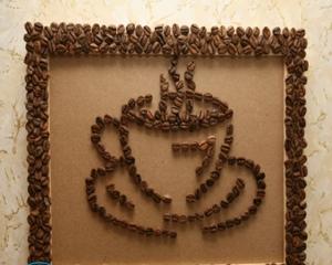 Картины из кофейных зерен своими руками