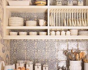 Фартук для кухни из плитки — дизайн