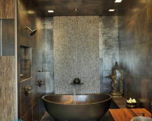 Навесной потолок в ванной своими руками