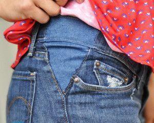 Как вывести жирное пятно с джинсов в домашних условиях?