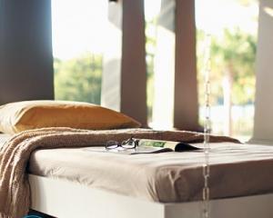 Подвесная кровать своими руками