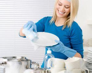 Как мыть посуду?
