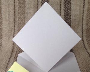 Как убрать жирное пятно с бумаги?