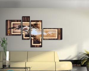 Как сделать панно из фотографий своими руками на стену?