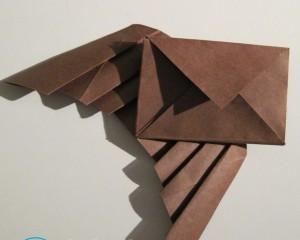 Как сделать военный конверт из бумаги треугольник?